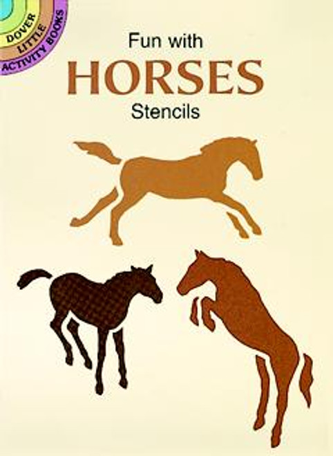Fun with Horses Stencils Booklet