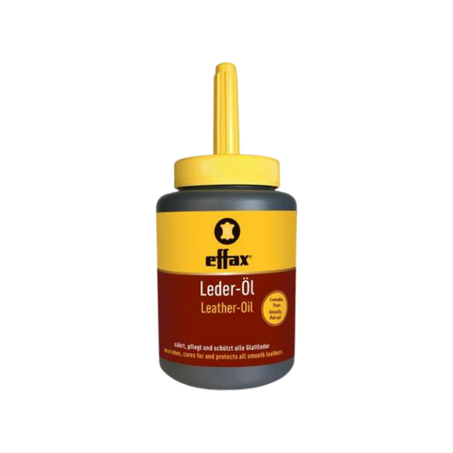Effax Leather Oil with Brush - 475 mL