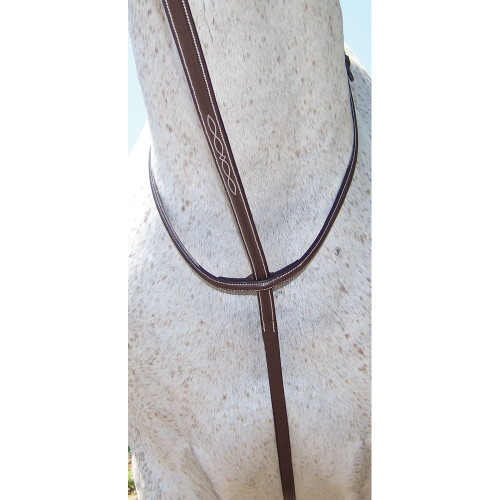 PT Fancy Stitched Standing Martingale