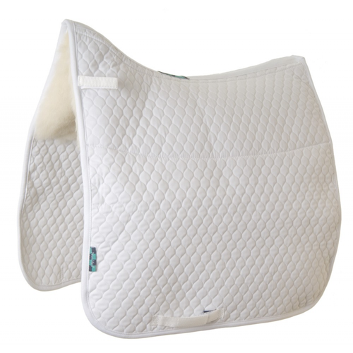 HiWither Gullet Free Dressage Pad with 5oz Wool Panels