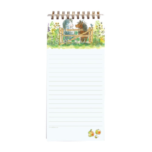 Magnetic Notepad - Happy Horses