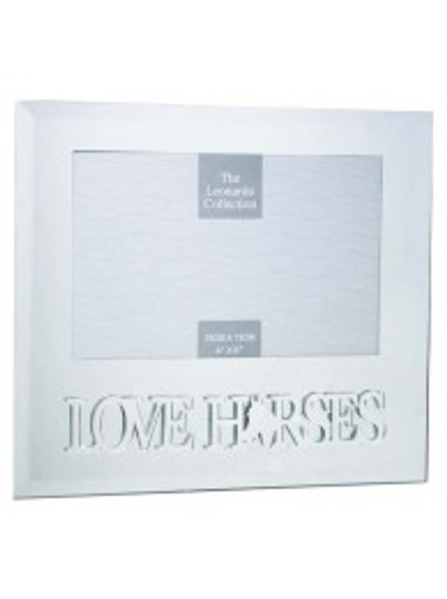 """Love Horses"" Photo Frame"