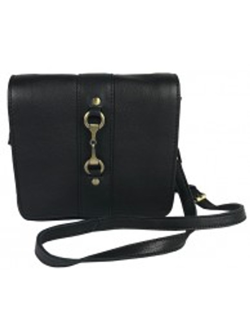"""Julia"" Fine Leather Side Purse"