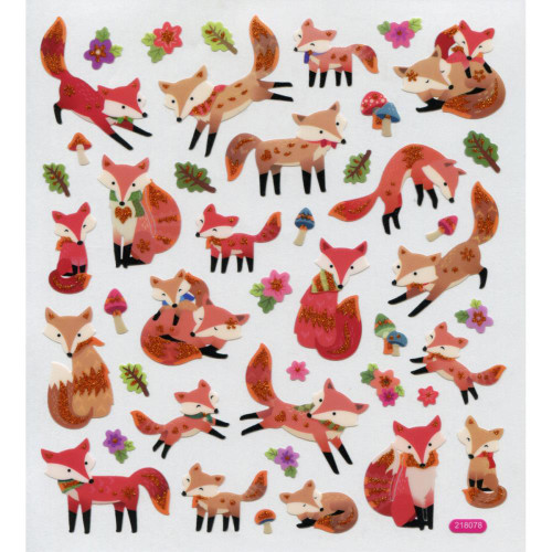 Stickers - Fun with Foxes