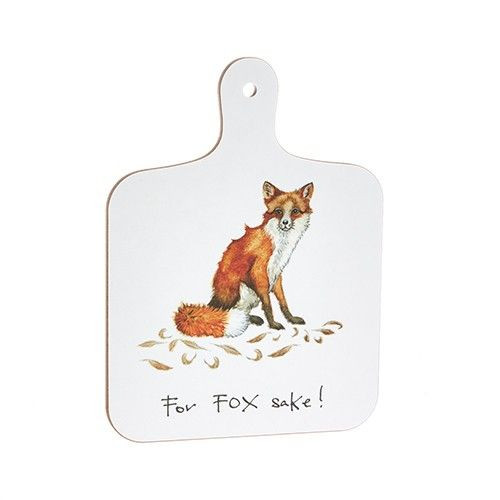 Mini Chopping Board - For Fox Sake!