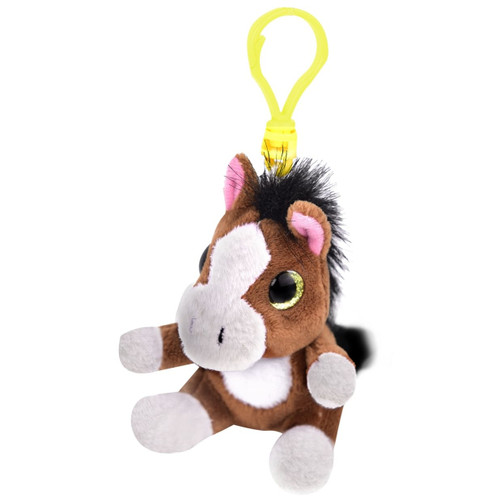 Plush Horse with Clip