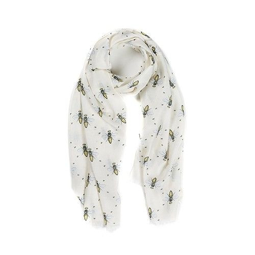 Lightweight Scarf - Queen Bee
