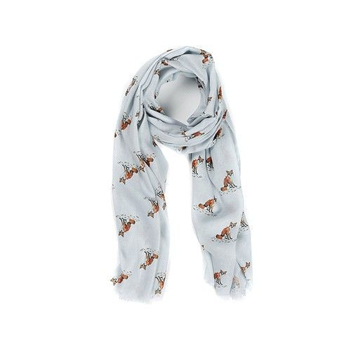 Lightweight Scarf - Foxes
