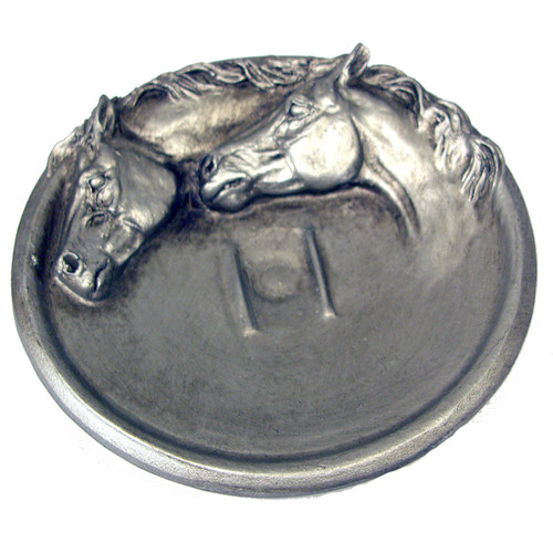 Metal Horse Soap Dish