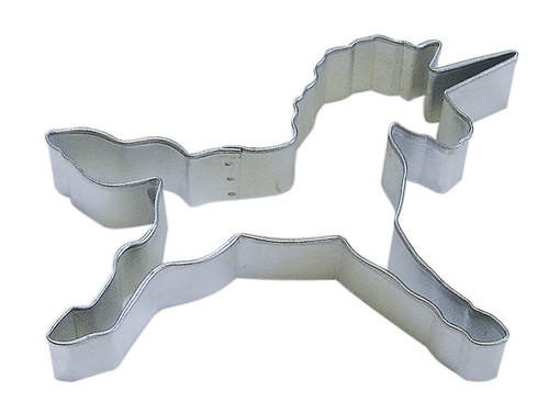 Running Unicorn Cookie Cutter
