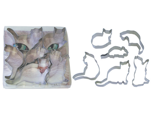 """When the Cat's Away"" Cookie Cutter Set"