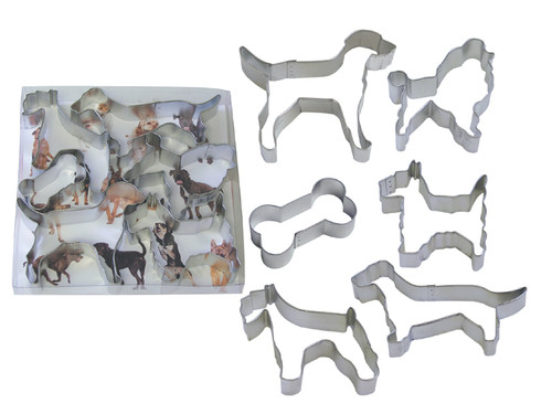 """It's A Dog's Life"" Cookie Cutter Set"