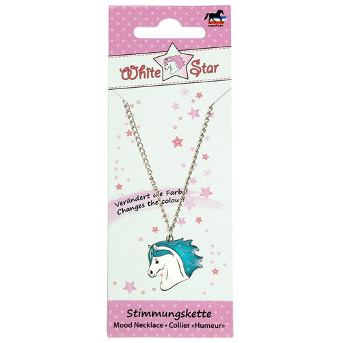 """White Star"" Mood Necklace"