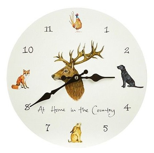 Wall Clock - At Home In The Country