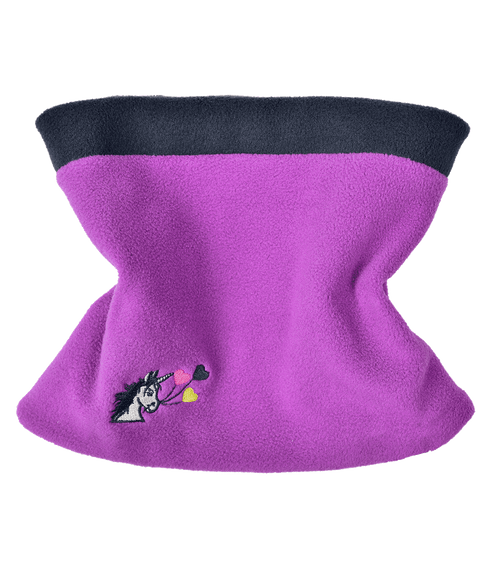 Lucky Unicorn Fleece Neck Warmer