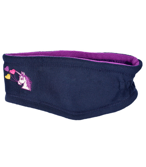 Lucky Unicorn Fleece Headband
