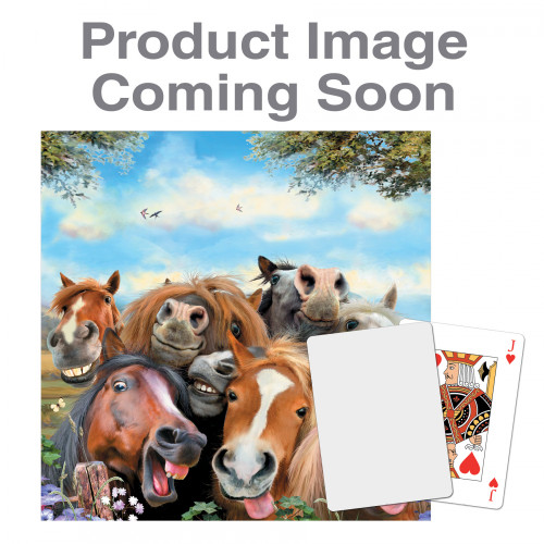 Playing Cards - Horses Selfie