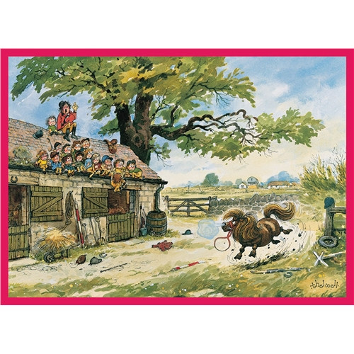 Thelwell Greeting Card - Show no Fear
