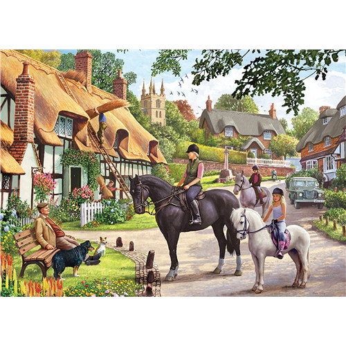 Jigsaw Puzzle 1000 pieces - Country Life