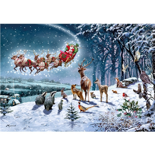 Jigsaw Puzzle 500 pieces - Magical Christmas
