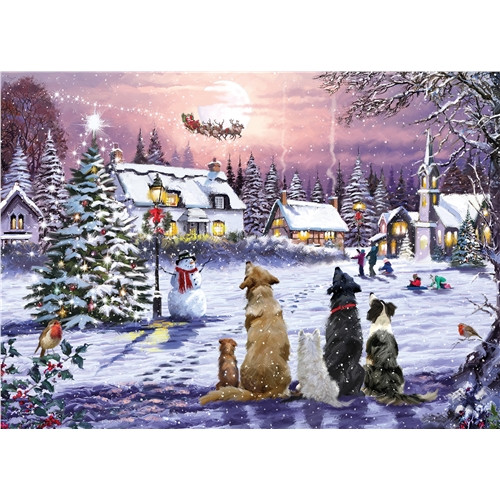 Jigsaw Puzzle 1000 pieces - Christmas Eve