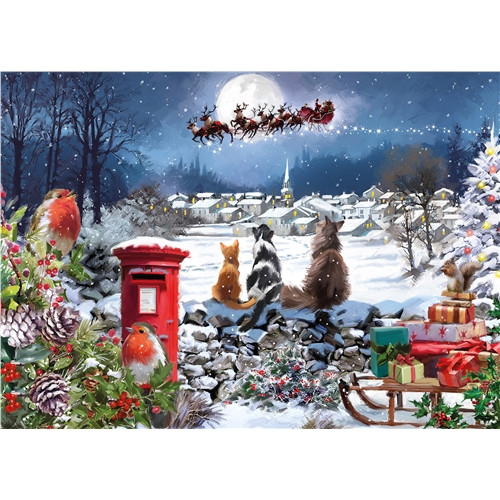 Jigsaw Puzzle 1000 pieces - Christmas Delivery