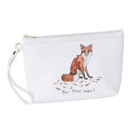 Makeup Bag - For Fox Sake!