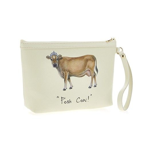 Makeup Bag - Posh Cow