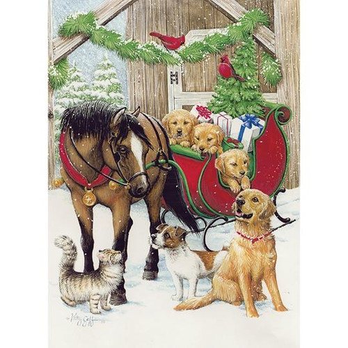 Christmas Cards - Warmth & Joy - Box of 10