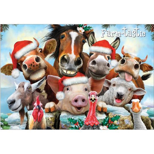 Christmas Cards - Farm-Tastic - Box of 10