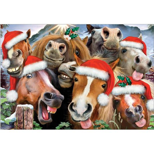 Christmas Cards - Horsing Around - Box of 10