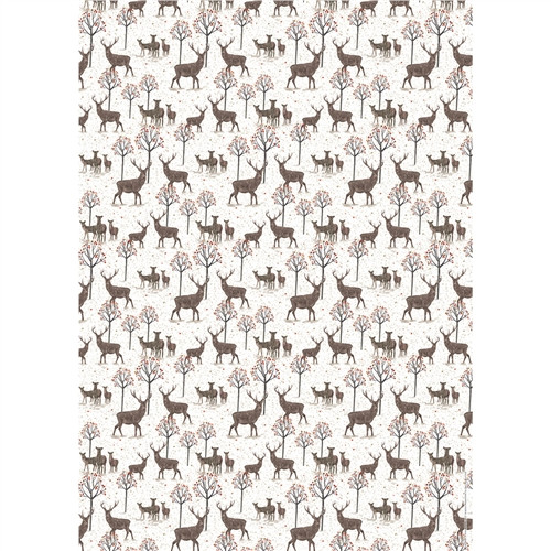 Christmas Gift Wrap & Tags - Majestic Stag