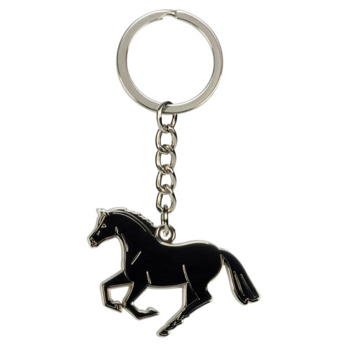 Cantering Horse Keychain