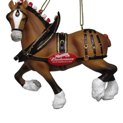 Budweiser® Clydesdale Ornament 4.25""