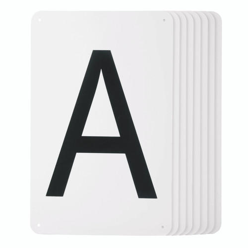 Plastic Dressage Letters - Set of 8