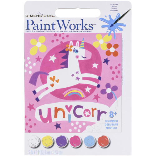 Paint by Number Kit - Unicorn