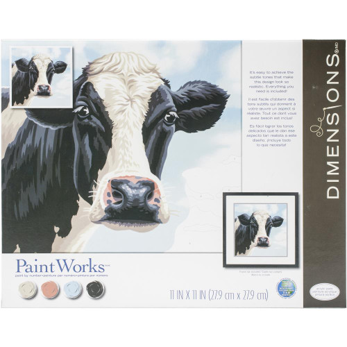 Paint by Number Kit - Cow
