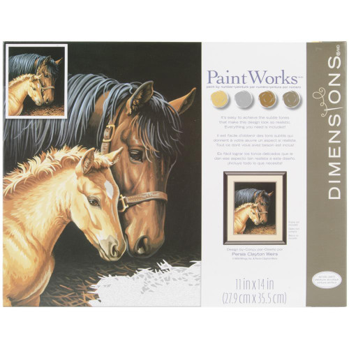 Paint by Number Kit - Gentle Touch