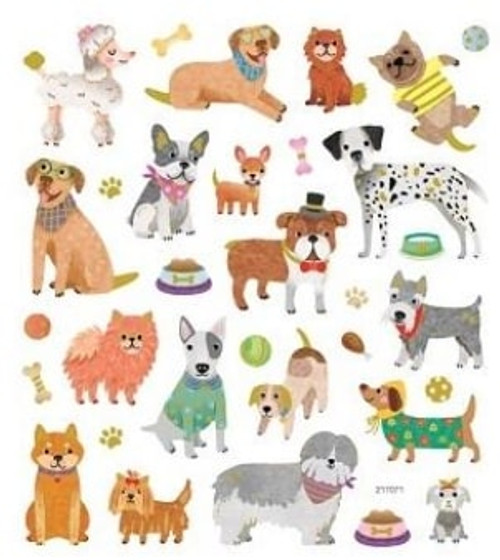 Dog Play Stickers