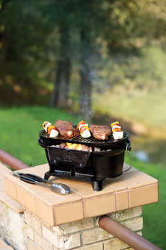 Sportsman Hibachi Cast Iron Grill