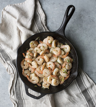 Cast Iron 10 Inch 'Chef Style' Skillet