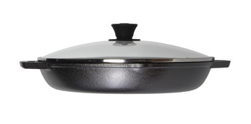 Cast Iron 12 Inch Everyday 'Chef ' Pan