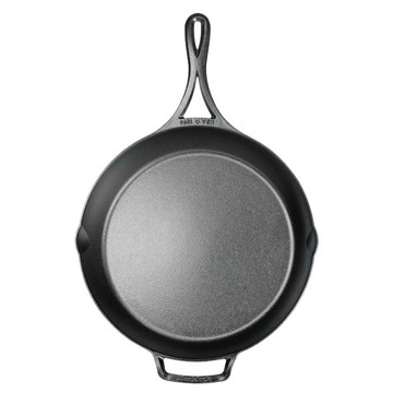 Triple Seasoned Cast Iron 14.5 Inch Skillet