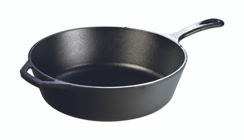 "Cast Iron 12"" Deep Skillet"