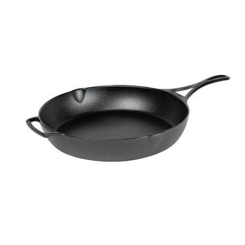 Triple Seasoned Cast Iron 12 Inch Skillet