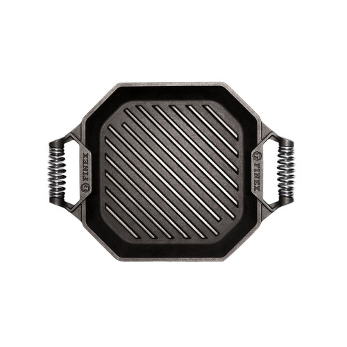 Finex 12 Inch Cast Iron Grill Pan