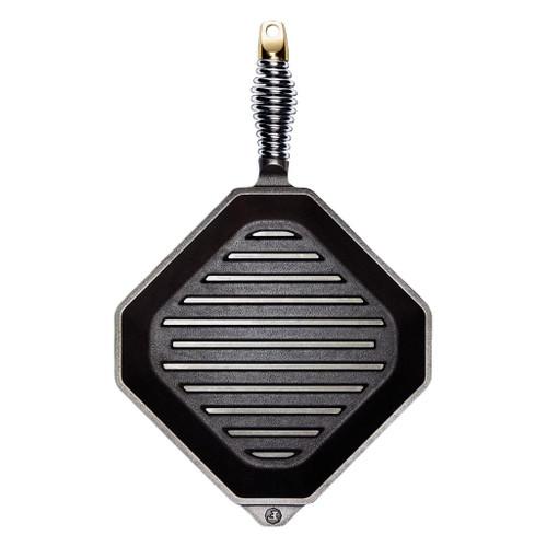 Finex 10 Inch Cast Iron Grill Pan