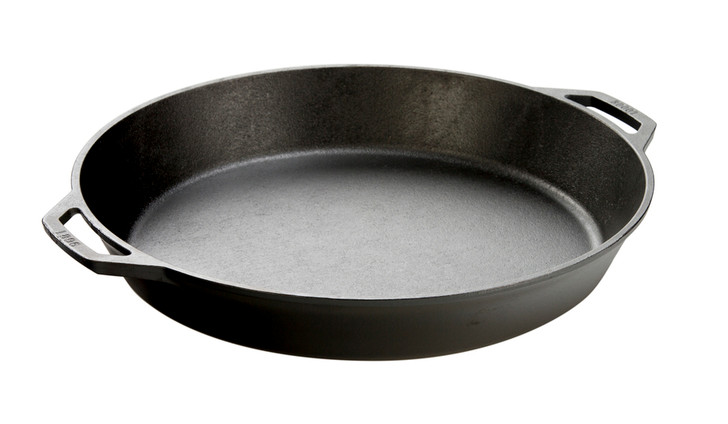 17 Inch Cast Iron Dual Handle Pan