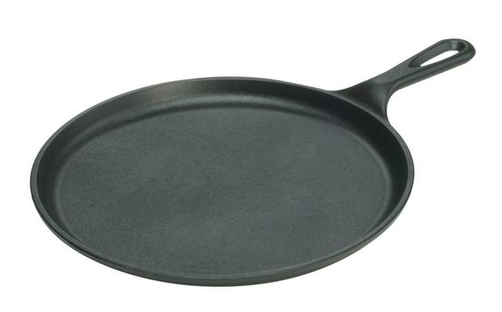 10.5 Inch Round Cast Iron Griddle