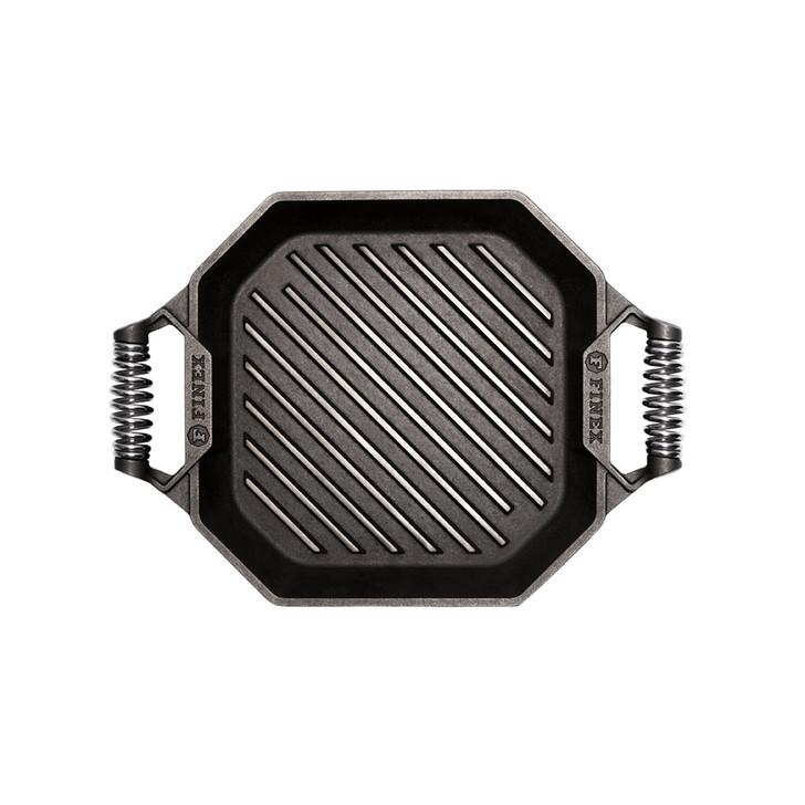 Finex 12 Inch Cast Iron Grill Pan